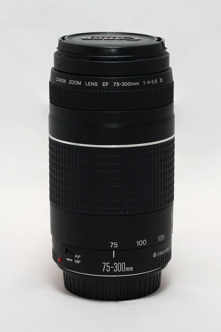 Canon EF 75–300mm lens