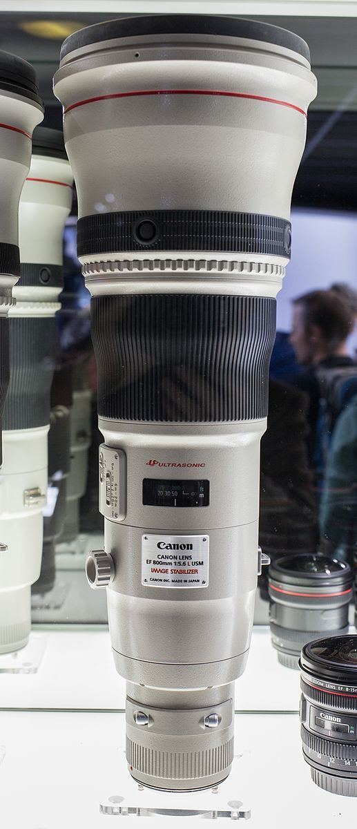 Canon EF 800mm lens