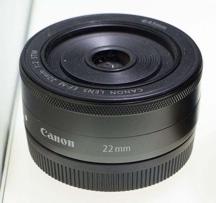 Canon EF-M 22mm lens