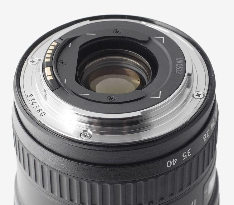 Canon L lens