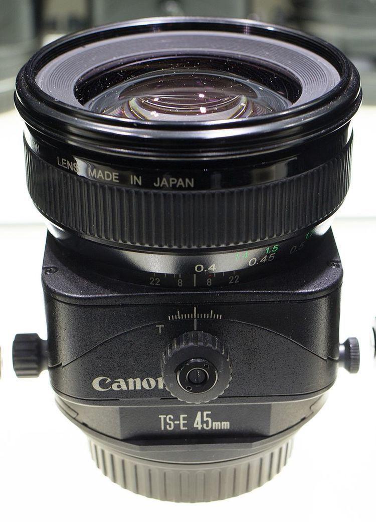 Canon TS-E 45mm lens