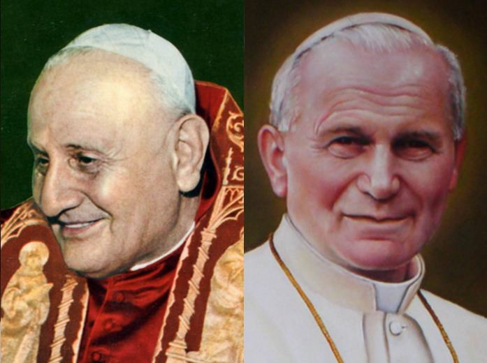 Canonization of Pope John XXIII and Pope John Paul II