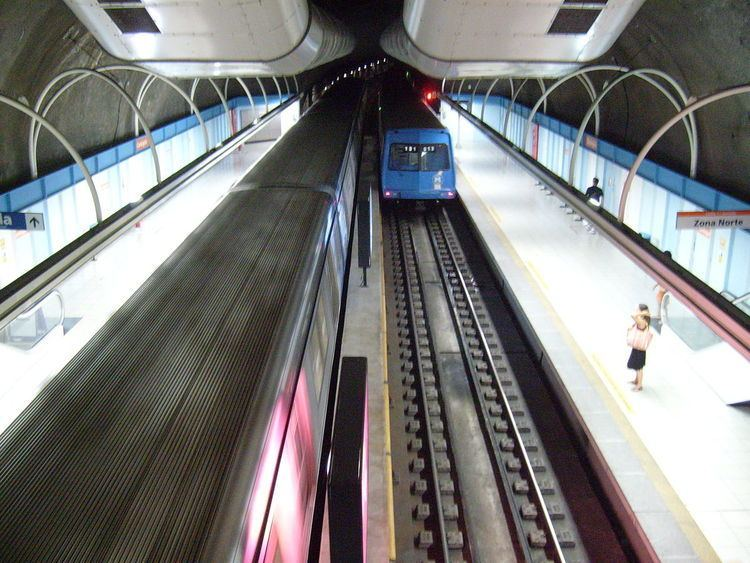 Cantagalo Station