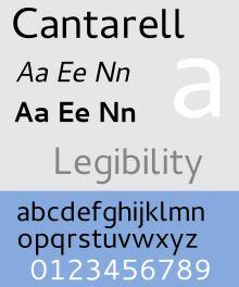 Cantarell (typeface) httpsuploadwikimediaorgwikipediacommonsthu