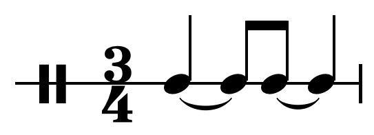 Canter rhythm