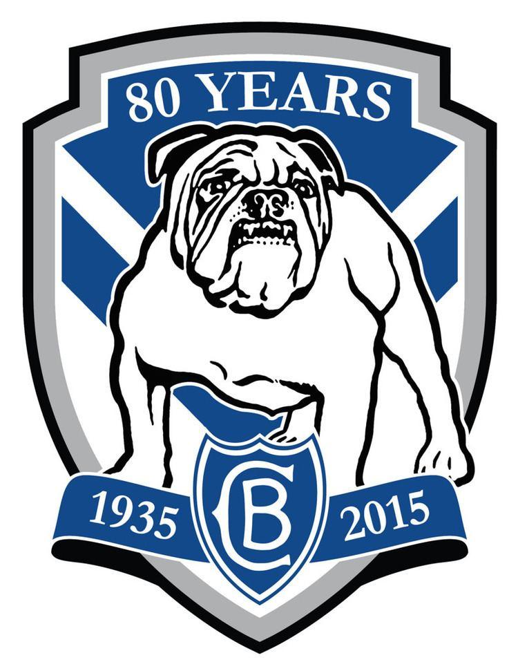 Canterbury-Bankstown Bulldogs CanterburyBankstown Bulldogs 80 Years Custom Logo by Sunn Flickr