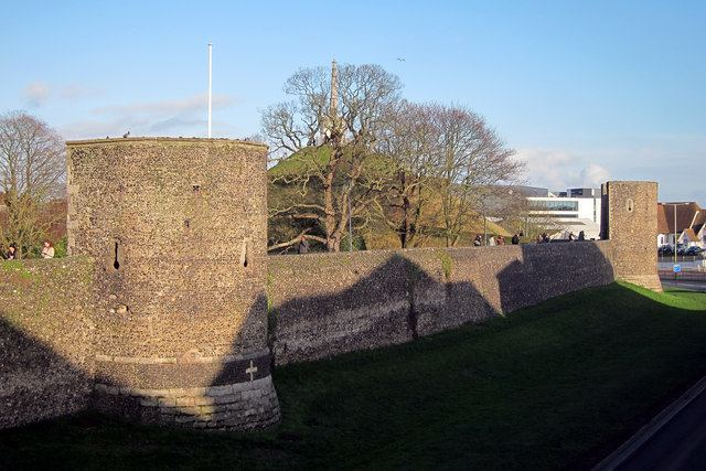 Canterbury city walls Canterbury City Walls Oast House Archive ccbysa20 Geograph