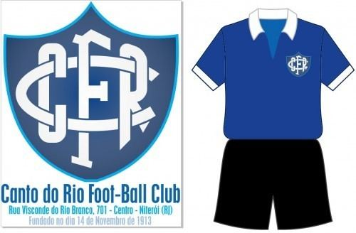 Canto do Rio Foot-Ball Club Canto do Rio FootBall Club Niteri RJ Escudo e uniforme de