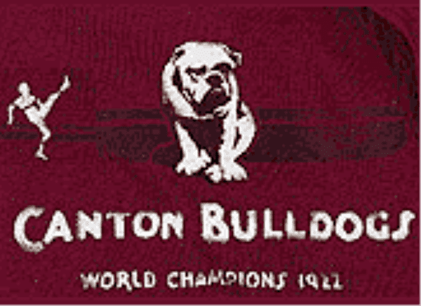 Canton Bulldogs 33 Best NFL Logos of All Time
