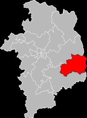 Canton of La Guerche-sur-l'Aubois httpsuploadwikimediaorgwikipediacommonsthu