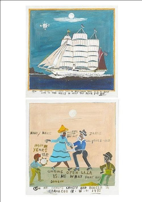 Canute Caliste Canute Caliste Works on Sale at Auction Biography