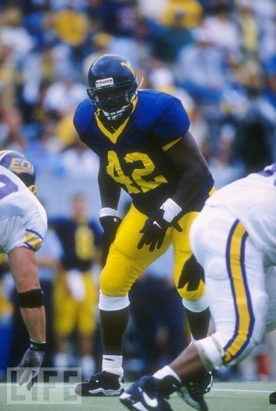 Canute Curtis West Virginia Football 100 Day Countdown to Kickoff 42 Canute Curtis