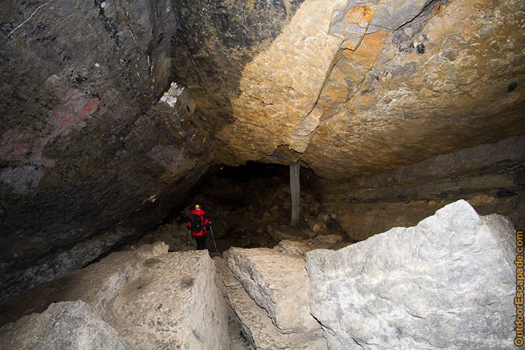Canyon Creek Ice Cave Canyon Creek Ice Cave Outdoor Escapade Canadian Trip Reports and