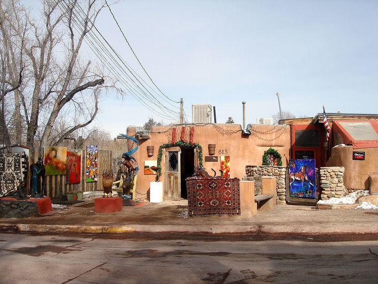 Canyon Road, Santa Fe, New Mexico Canyon Road Santa Fe New Mexico Wikipedia