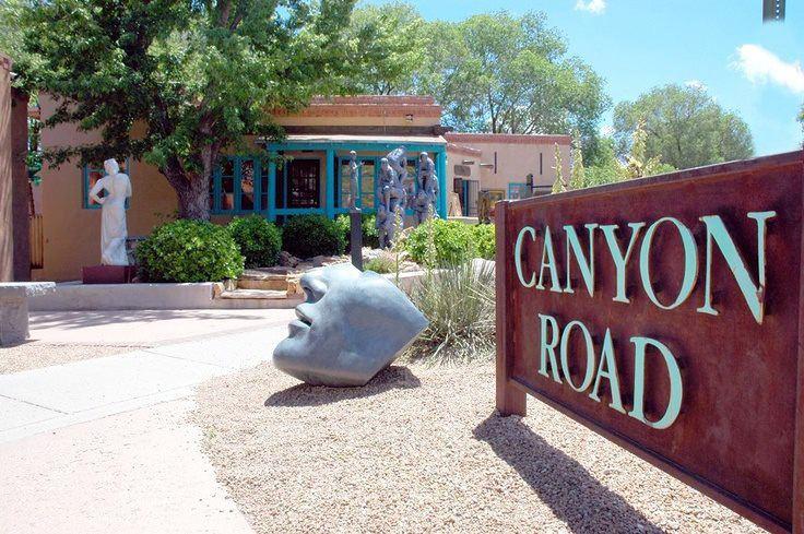 Canyon Road, Santa Fe, New Mexico The Art of Dining on Canyon Road Santa Fe New Mexico Blog