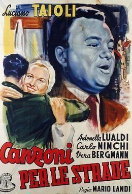 Canzoni per le strade movie poster