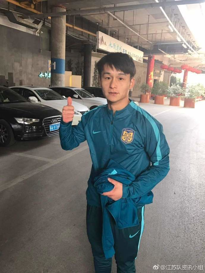 JS Suning FC News on Twitter Wang Song Cao Haiqing and Gao Di