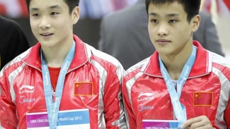 Cao Yuan Divers Cao Yuan and Zhang Yanquan of China win Olympic