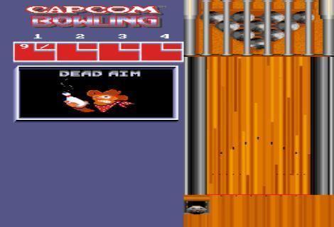 Capcom Bowling AURCADE Capcom Bowling