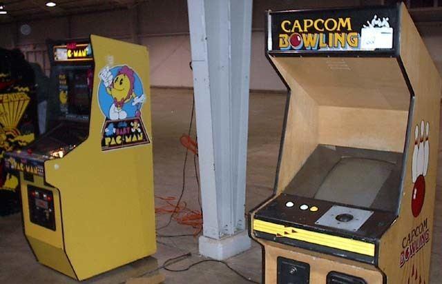 Capcom Bowling Madoc39s Arcade Auction Pics