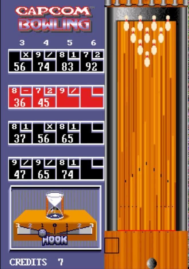 Capcom Bowling Capcom Bowling Arcade YouTube
