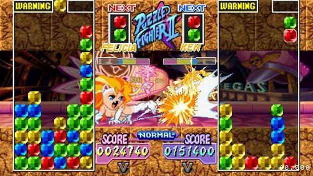 Capcom Puzzle World Capcom Puzzle World Game PSP PlayStation