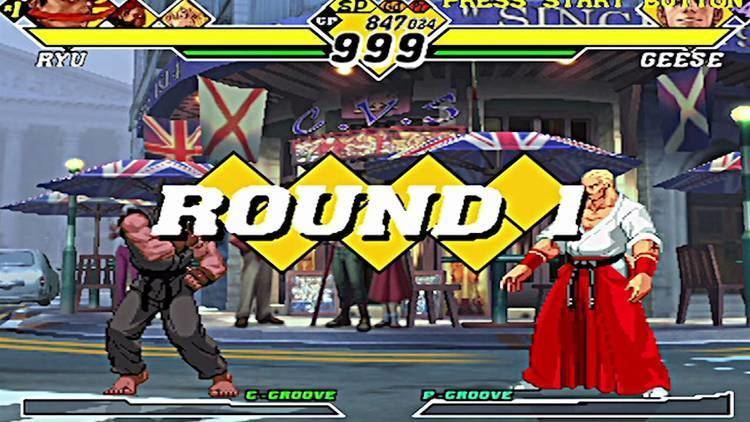 Capcom vs. SNK 2 Capcom Vs SNK 2 Mark Of The Millennium 2001 PS2 YouTube