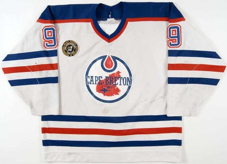 Cape Breton Oilers 199192 Martin Rucinsky Cape Breton Oilers Game Worn Jersey quotPHPA
