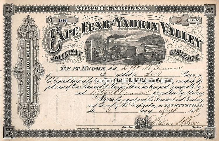 Cape Fear and Yadkin Valley Railway