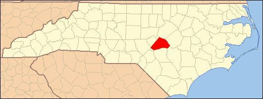 Cape Fear, Harnett County, North Carolina