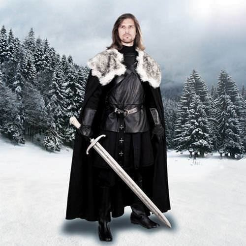 Cape of the North Jon Snow Nights Watch Cape of the North