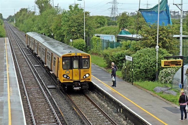 Capenhurst railway station