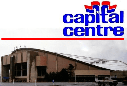 Capital Centre The Capital Centre Remembering the Caps39 First Home NoVa Caps