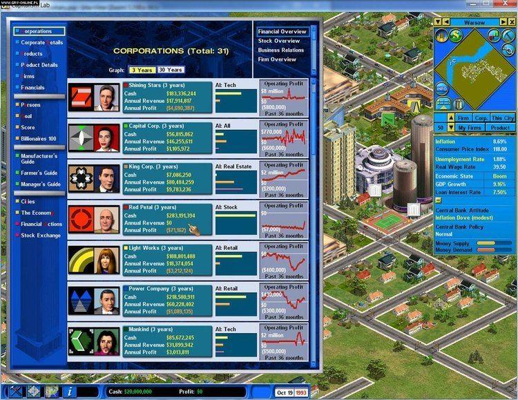 Capitalism II Capitalism II Capitalism Lab PC gamepressurecom