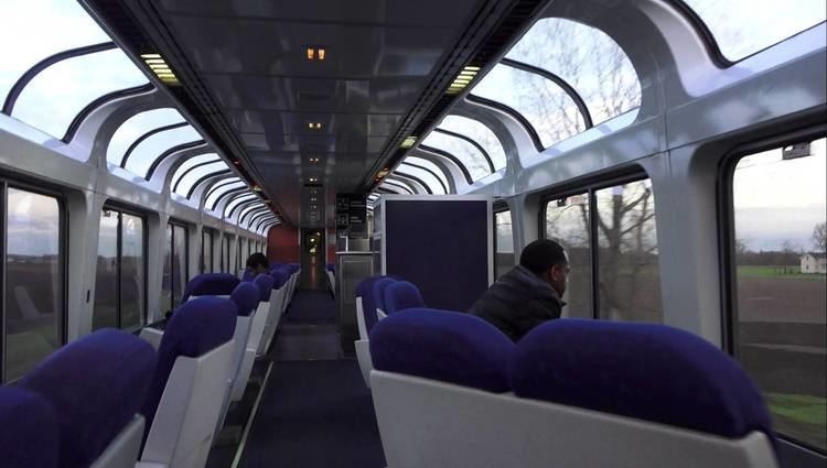 Capitol Limited (Amtrak train) 4k SONY FDRAX100 Amtrak Superliner Walk thru Capitol Limited 29