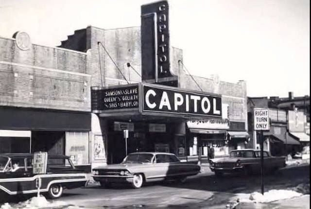 Capitol Theatre (Passaic, New Jersey) Capitol Theater in Passaic NJ 1963 Before the Concerts Vintage