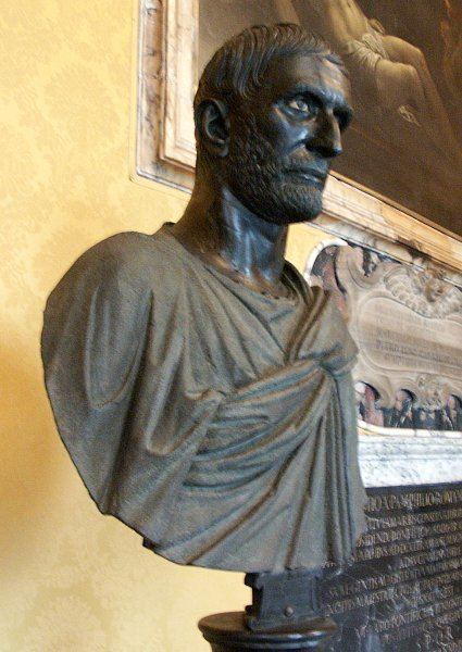 Capitoline Brutus Images of Brutus in the Capitoline Museum