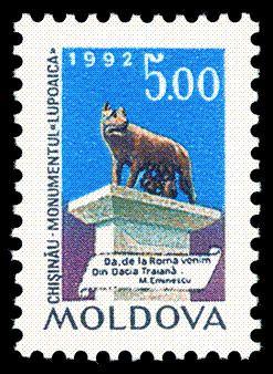 Capitoline Wolf, Chișinău