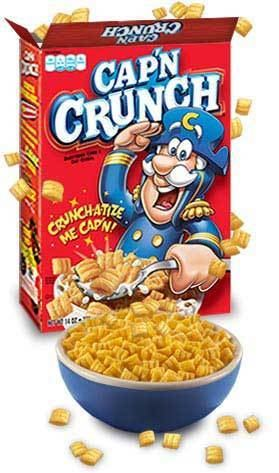 Cap'n Crunch Amazoncom Cap39N Crunch Red Box 20Ounce Pack of 5 Breakfast