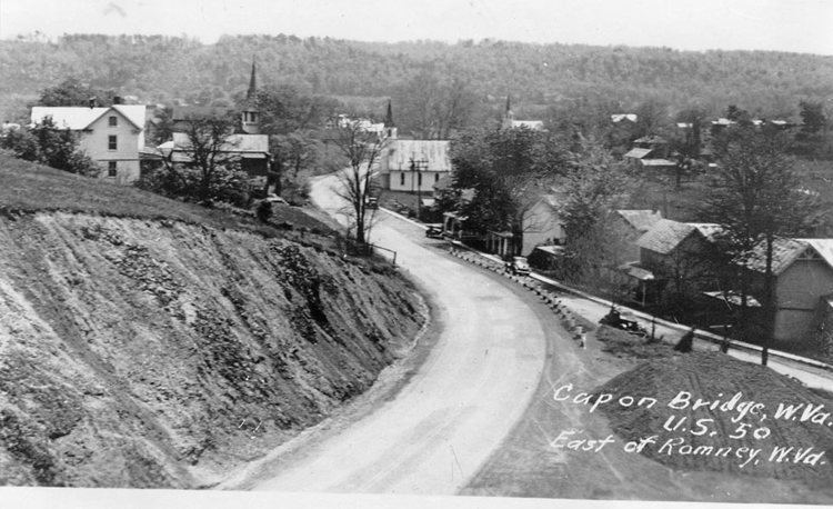 Capon Bridge, West Virginia wwwhistorichampshireorgoldpicscaponbrCBwest