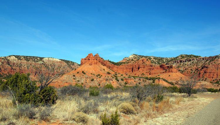 Caprock Escarpment Caprock Escarpment Formation Caprock Canyon State Park nea Flickr