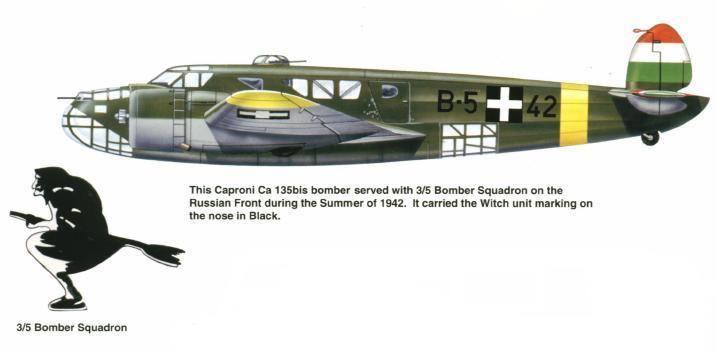 Caproni Ca.135 WINGS PALETTE Caproni Ca135 Hungary