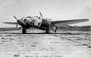Caproni Ca.135 Caproni Ca135 Wikipedie