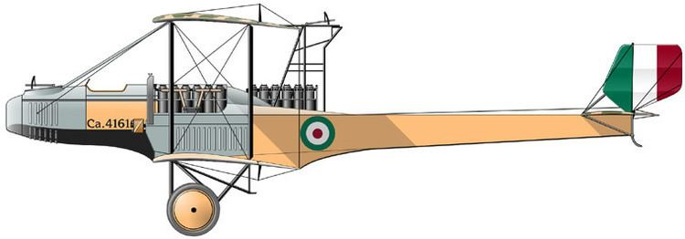 Caproni Ca.5 WINGS PALETTE Caproni Ca5 Italy