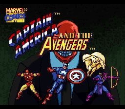 Captain America and The Avengers Captain America and the Avengers USA ROM lt SNES ROMs Emuparadise
