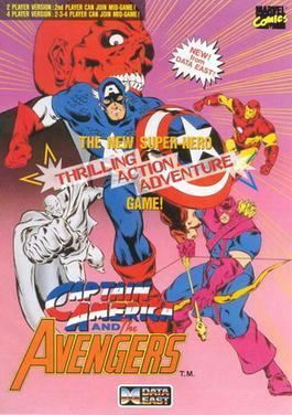 Captain America and The Avengers Captain America and The Avengers Wikipedia