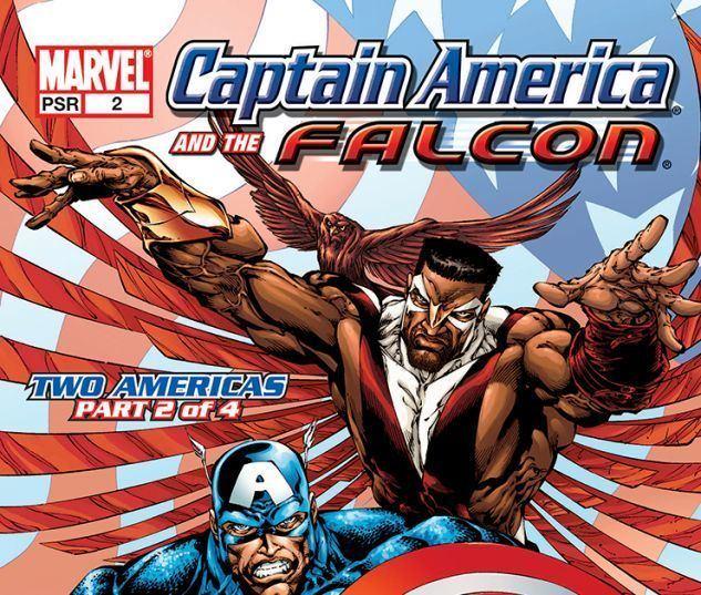 Captain America and the Falcon Captain America amp the Falcon Vol 1 Two Americas Trade Paperback