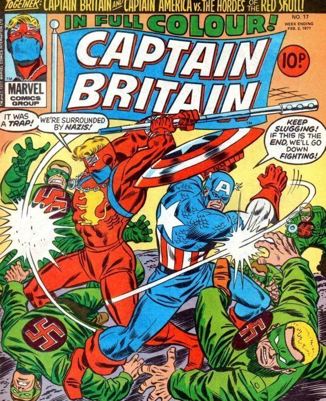 Captain Britain The reinvention of Captain Britain BBC News