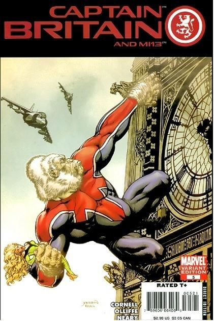Captain Britain and MI13 Captain Britain and MI13 The Captain Britain fans39 page and blog