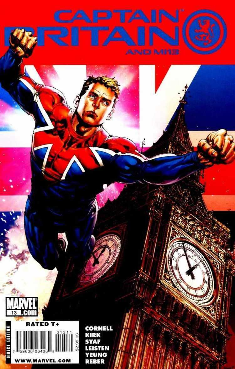 Captain Britain and MI13 Captain Britain and MI13 Volume Comic Vine